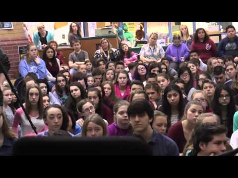 Mr. Leo Ullman at Lacey Township Middle School - February 25, 2016
