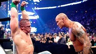 WWE Breaking Point 2009 - John Cena VS Randy Orton 720p HD