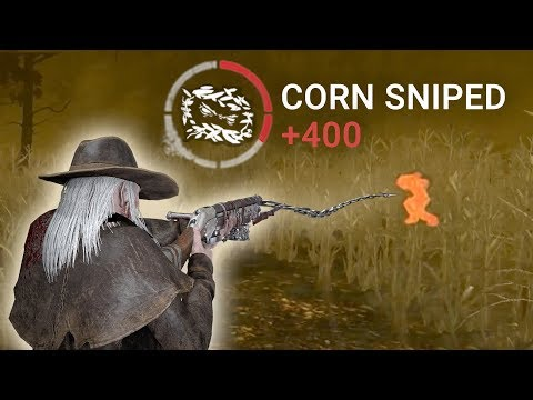 Sniping On Rotten Fields - Deathslinger Gameplay   Dead By Daylight