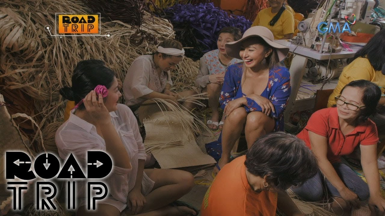 Road Trip: Buli weaving and chikahan with the Viva Hot Babes