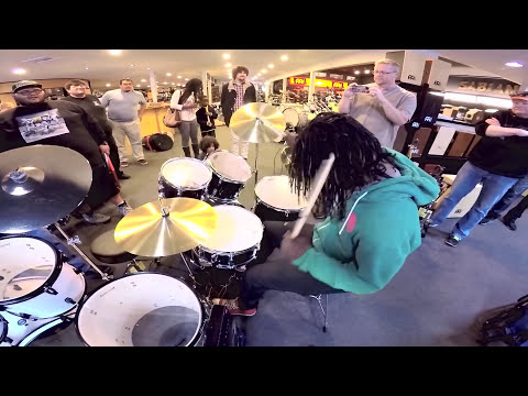 Thomas Pridgen Bentleys Drum Shop