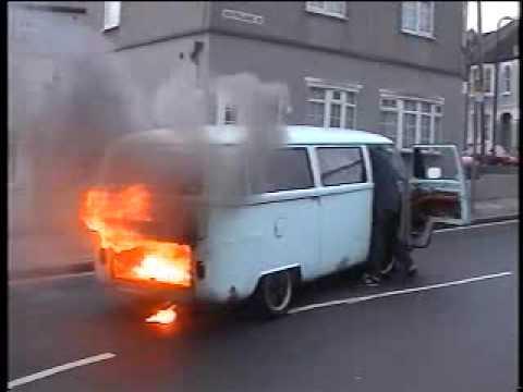 Slim Haydies Vw Camper Van Up In Smoke Www Dubz4klubz Co