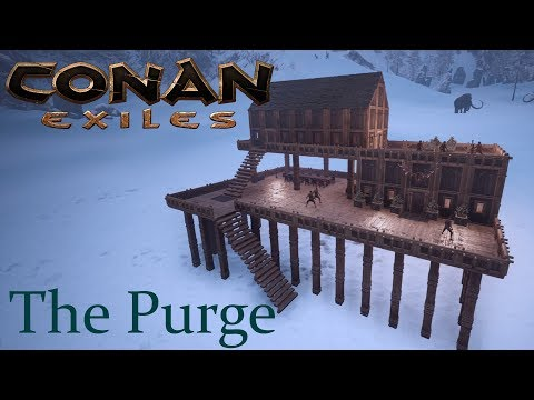Conan Exiles - The Silent Legion Purge Invasion