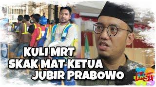 Memalukan!!! Nyebar Hoaks, Koordinator Juru Bicara Prabowo-Sandi Diskak Kuli MRT!