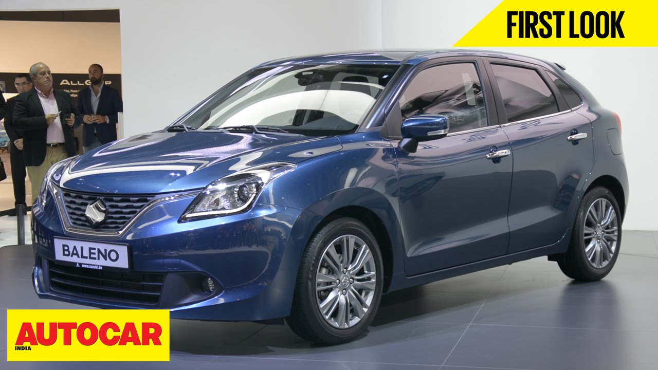 All Types baleno car images : Maruti Suzuki Baleno | First Look | Autocar India - YouTube