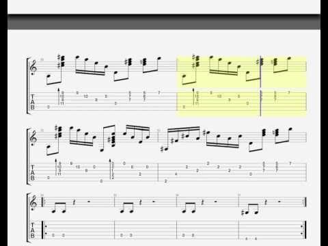 Map of your Head by Muse - GUITAR TAB - HQ HD - YouTube