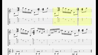 Map of your Head by Muse - GUITAR TAB - HQ HD