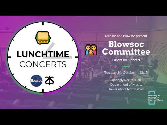 👪 Blowsoc Committee LTC (Autumn 2019)