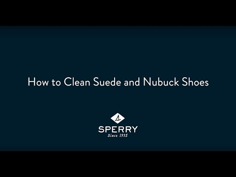 How to Clean Suede and Nubuck Shoes