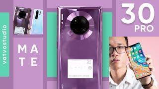 Mở hộp Huawei Mate 30 Pro không có PLAYSTORE
