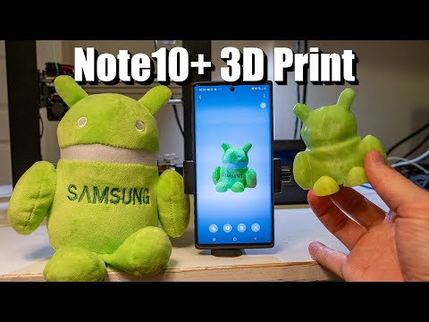 Taking The Note10+ 3D Scanner To The Limit