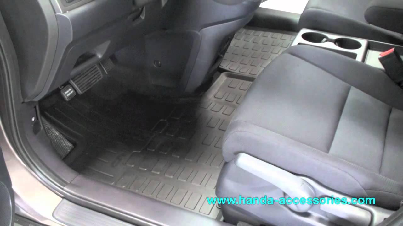 Crv All Season Floor Mats Installation Honda Answers 9
