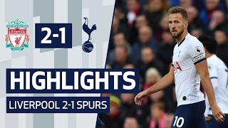 HIGHLIGHTS | LIVERPOOL 2-1 SPURS