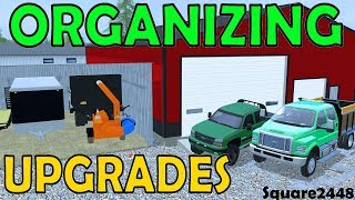 Farming Simulator 17 | Organizing & Upgrading | Lawn Care Shop | F650 | Duramax | Weedeater