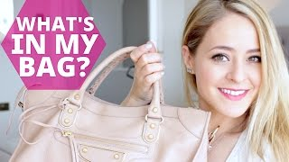 WHAT'S IN MY BAG? Balenciaga City | Fleur De Force