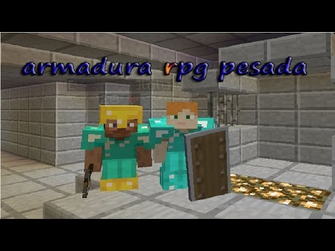 Como aser armadura PESADA en MYCRAFT survival rpg tutorial