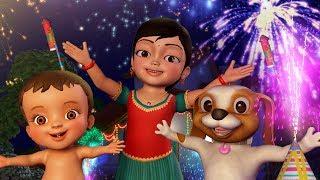 கண்மணியுடன் தீபாவளி கொண்டாட்டம் Deepavali Song | Tamil Rhymes for Children | Infobells
