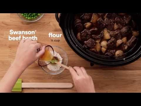 Campbell's Kitchen | Slow Cooker Hearty Beef Stew
