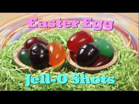 How to make jello eggs using plastic
