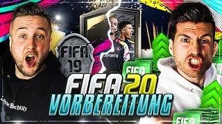Der LETZTE STREAM in FIFA 19 !! VORBEREITUNG auf FIFA 20 !!