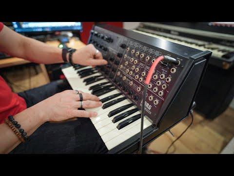 Vintage Korg MS-20 Synthesizer: Unboxing & Fun