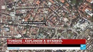TURQUIE - Explosion dans une zone touristique d'Istanbul - De nombreux blessés