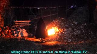 Подземелья Кенигсберга - Замок Бальга, ночь (тест Canon EOS 7D Mark2)