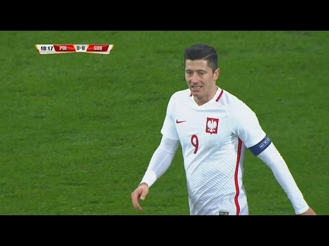 Robert Lewandowski vs Serbia Home HD 1080i (23/03/2016) by 1900FCBFreak
