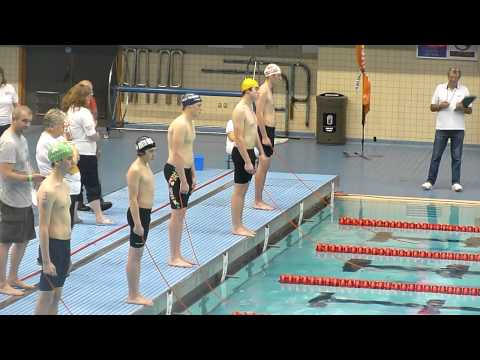 National Lifesaving Championships 2012 Senior Boys Line Throw (12m)