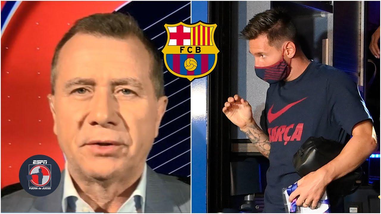 BOMBAZO 'Messi NO da para más en el Barcelona… Messi se va. Se tiene que ir': Ricky | Fuera de