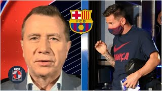 BOMBAZO 'Messi NO da para más en el Barcelona… Messi se va. Se tiene que ir': Ricky | Fuera de Juego