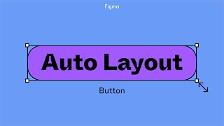 Figma tutorial: Auto layout button