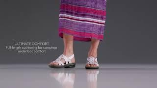 Womens Clarks® Leisa Vine Slingback