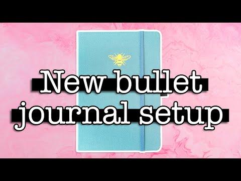 2021 BULLET JOURNAL SETUP 💜 New Bullet Journal Plan With Me