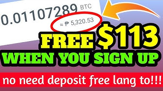 GET FREE $113 USD WHEN YOU SIGN-UP | NO DEPOSIT REQUIRED THIS IS TOTALLY FREE