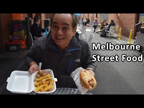 TASTY MELBOURNE STREET FOOD - Queen Victoria Market - Australian Food Tour