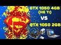 GTX 1050 4gb (не Ti) vs GTX 1050 2Gb на Pentium G4560, Intel Core i5, Intel Core i7. Обзор и тест.