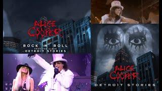 "Alice Cooper releases new song ""Rock 'N' Roll"" off new album ""Detroit Stories"" + art/tracklist!"