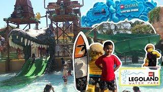 LEGOLAND California Water Park 2018 | LEGOLAND hotel treasure hunt, Lego Chima water park