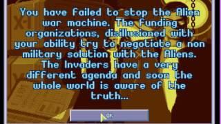 X-COM Terror from the Deep. Game over. EN