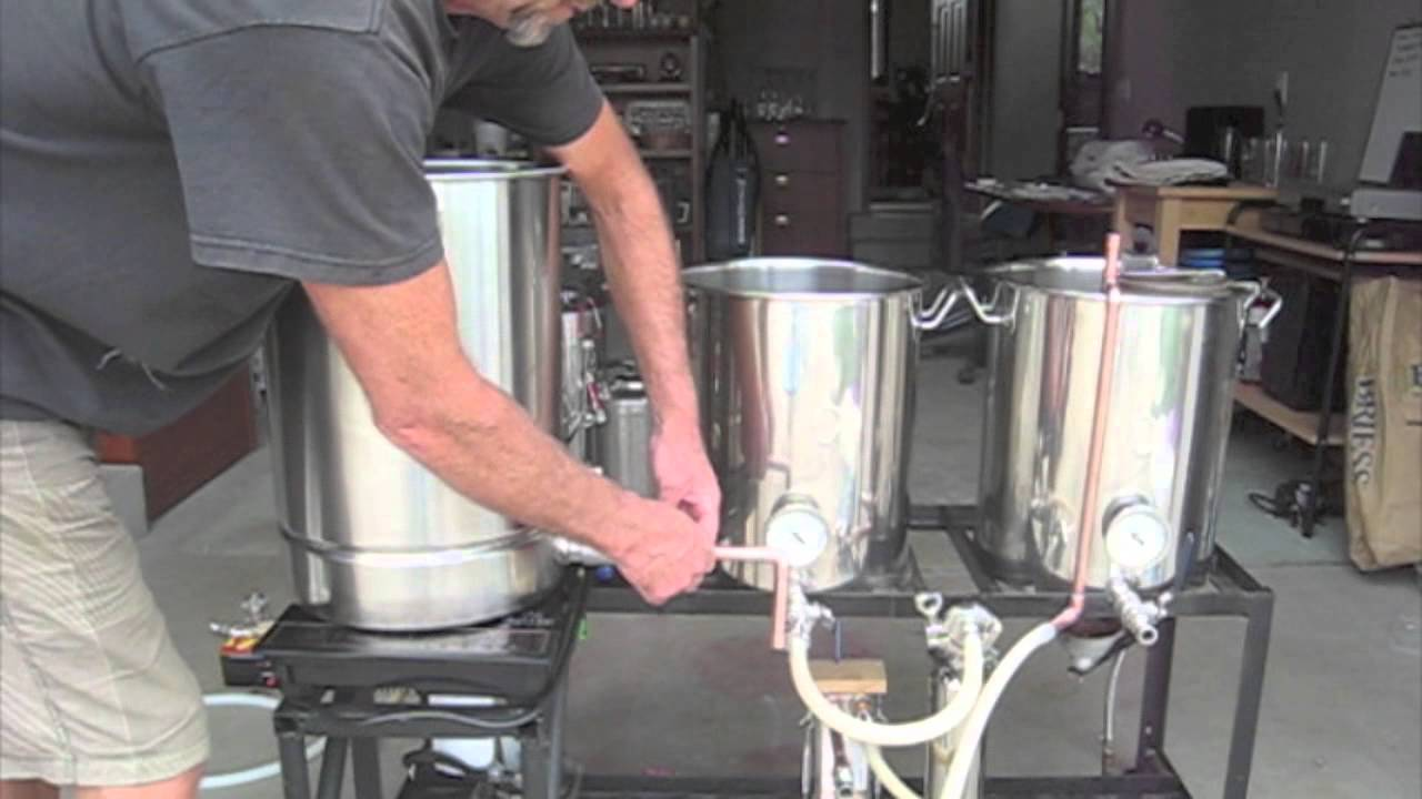 Herms Brewing System Home Brewing Youtube