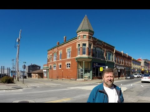 Yarmouth Nova Scotia Main Street Timelapse Part 1