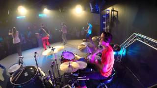 """Live Cover - Drumming At Church - Newspring - """"my God, My Father"""""""