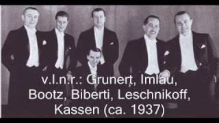 Das Meistersextett (Comedian Harmonists)  -  Die Nacht ist nicht allein zum Schlafen da