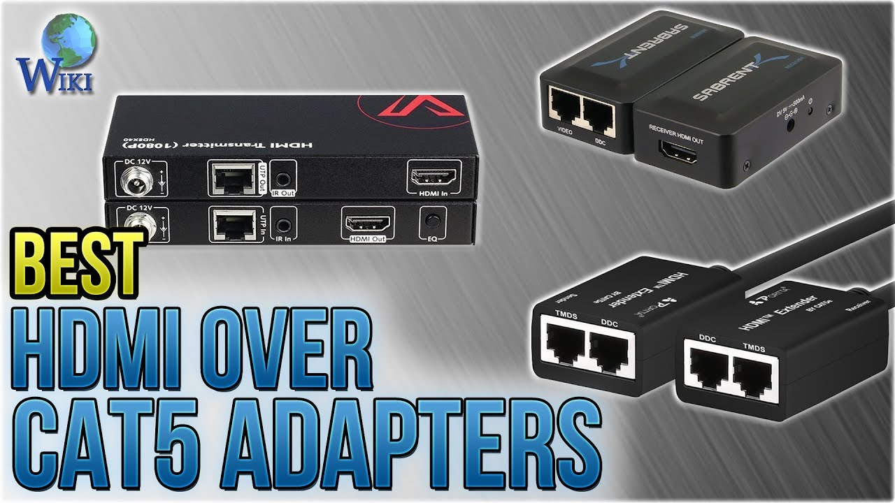 hight resolution of 6 best hdmi over cat5 adapters 2018