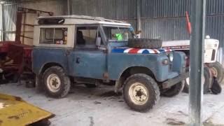 Land Rover series IIA Tdi, One year on.