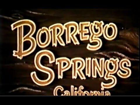 Borrego Springs California by Copley Productions