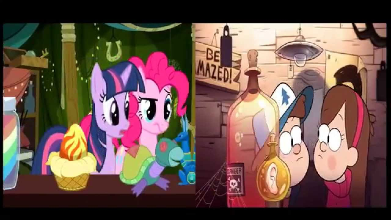 Wallpaper Falling In Reverse Comparasion Intro My Little Pony Gravity Falls Youtube