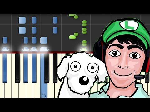 El Rap de Fernanfloo / Bambiel / Piano Tutorial / Synthesia / Notas Musicales