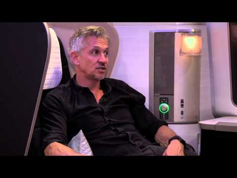 Gary Lineker talks about the 2015/16 football season with British Airways